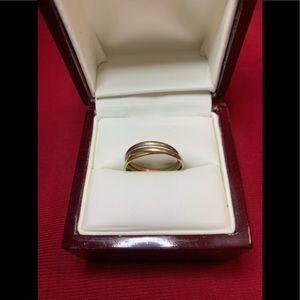 Cartier 18K Trinity Ring White, Rose, Yellow Gold